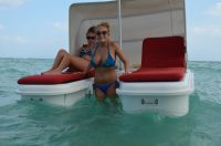 Seaduction Floats floating cabana fun!
