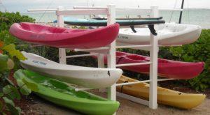 Lesstor Kayak Storage Rack