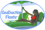 Seaduction Floats Floating Cabanas Logo